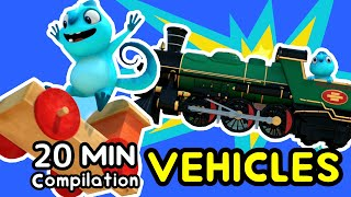 "Cam & Leon | ""VEHICLES"" 20 MIN COMPILATION 
