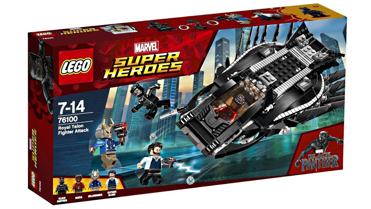 LEGO Black Panther 2018 sets pictures! - YouTube