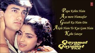 "Enjoy the all hit songs from movie ""qayamat se qayamat tak"" starring aamir khan, juhi chawla and this is directed by mansoor khan music comp..."