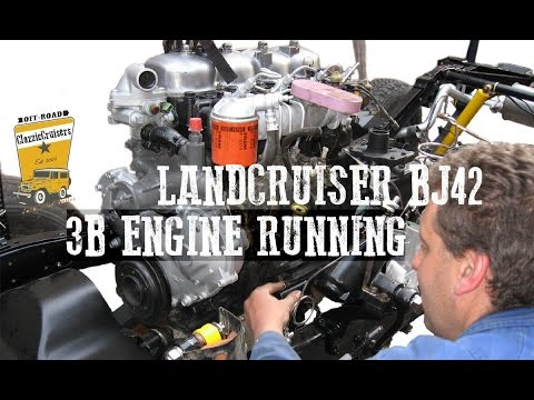 Toyota Landcruiser 3b Engine Running Restoration Update