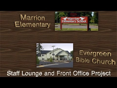 Marrion Elementary School Courtyard, Staff Lounge and Front Office Remodel