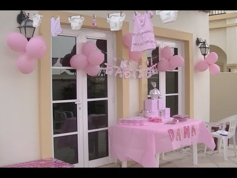 Ideas de decoraci n para un baby shower de ni a for Decoracion casa shower