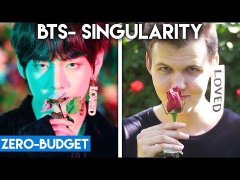 K-POP WITH ZERO BUDGET! (BTS- Tear 'Singularity')