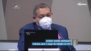 Kassio Nunes fala sobre combate às fake news