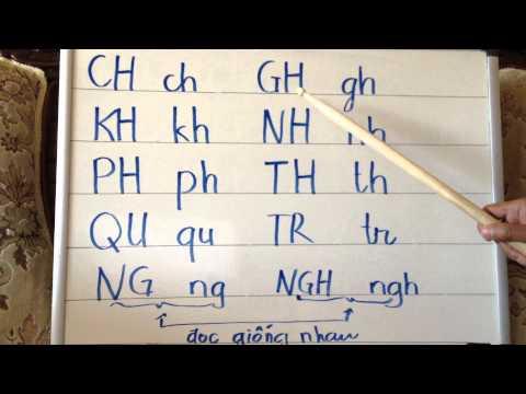 Học tiếng Việt vỡ lòng 3 - Mười từ kép