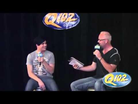 Q102 Brian Douglas, Adam Lambert Q&A p 1 flv