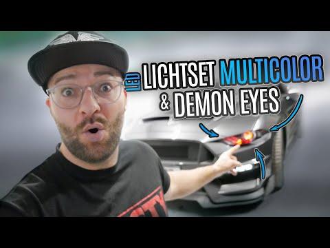 Ford Mustang LED Scheinwerfer Umbau | Velocity 2020 Projekt
