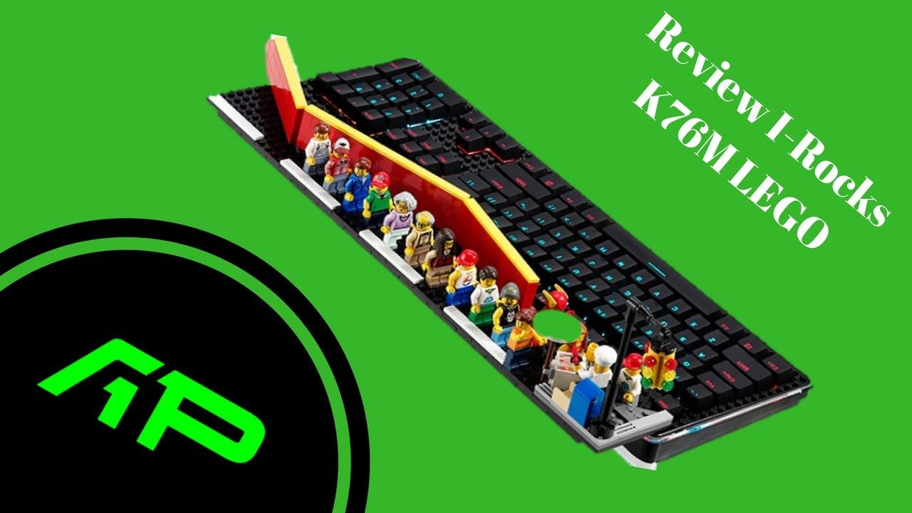 Review bàn phím I-Rocks K76M
