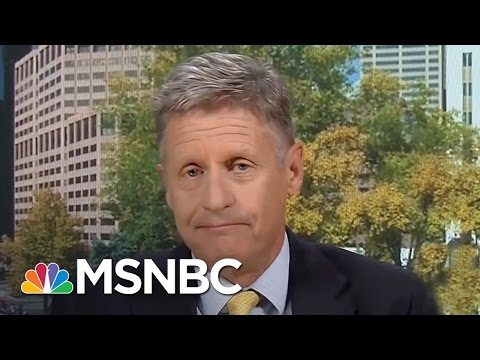 Gary Johnson On 2016, Syria And Gaffes   Andrea Mitchell   MSNBC