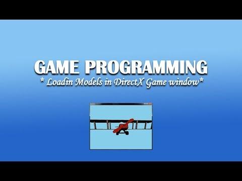 Loading Models In DirectX Window (#AnuragKurmi)