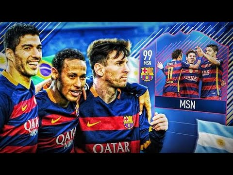MESSI x SUAREZ x NEYMAR  #BEAST @ FIFA 18 / DEV