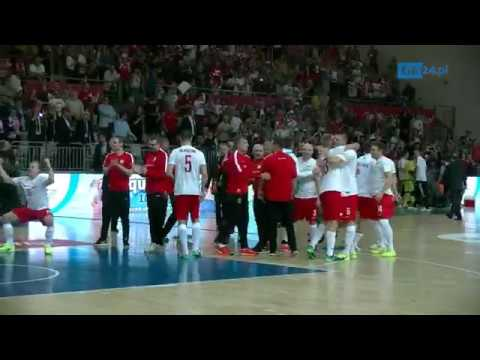 Mecz Polska - Węgry W Futsalu W Koszalinie