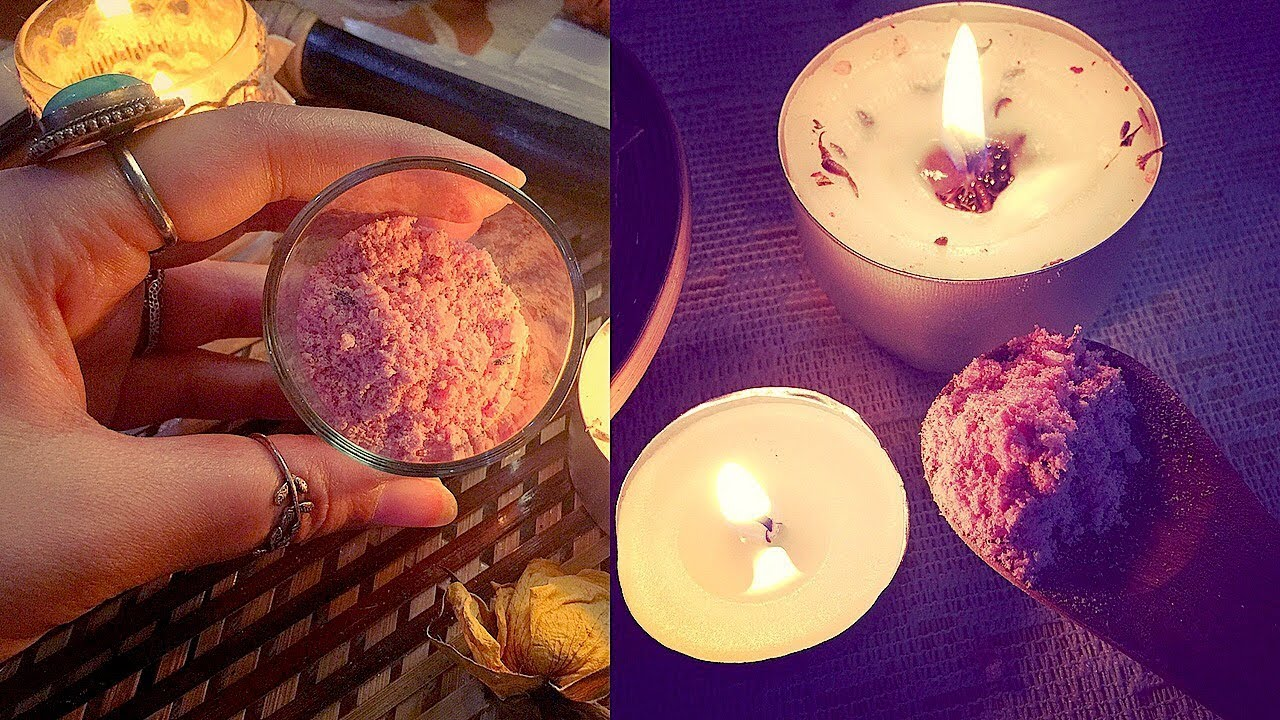 *Witchy* Love Bath Salts Recipe | The Two Wizards