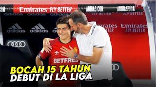 Kisah Luka Romero : Bocah 15 Tahun Yang Debut Di La Liga