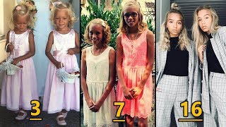 Lisa and Lena From Baby To Teenager
