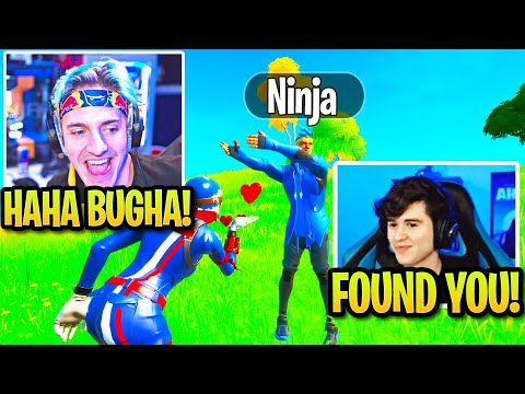 Bugha Finds Ninja In Pregame Lobby Then BOTH Spectate CRAZIEST Fortnite Game!