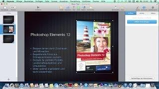 Präsentationen erstellen mit Keynote - Das große Mac-Training