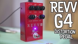 Brutality In A Box! Revv G4 Distortion Pedal!