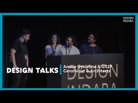 Andile Dyalvane, gt2p in never-before-seen installation at Design Indaba 2017