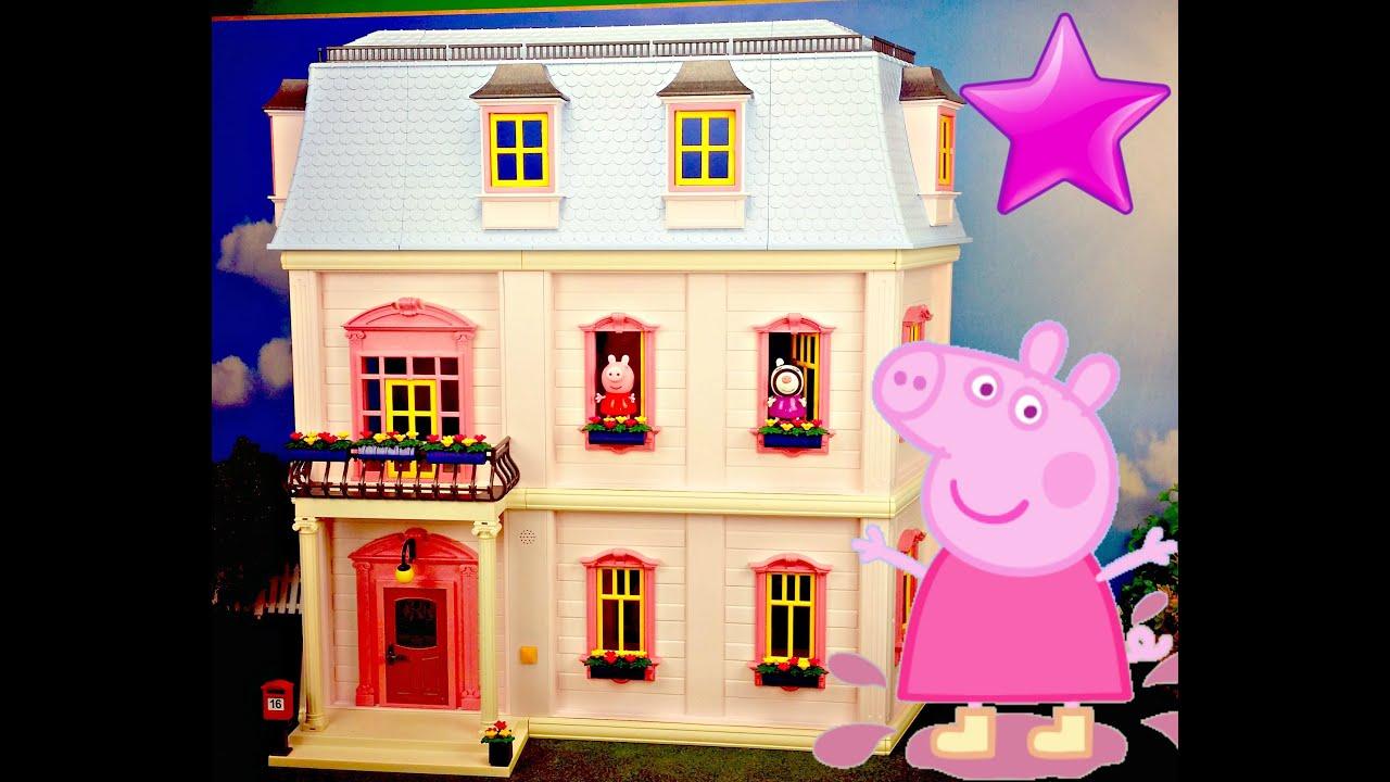 26 peppa pig juguetes en espa ol en la casa de for Casas de juguete para jardin