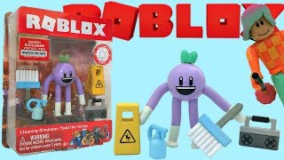 Roblox Toy Todd the Turnip, Cleaning Simulator, Series 4, Code Item, Stop-Motion Animation, Unboxing