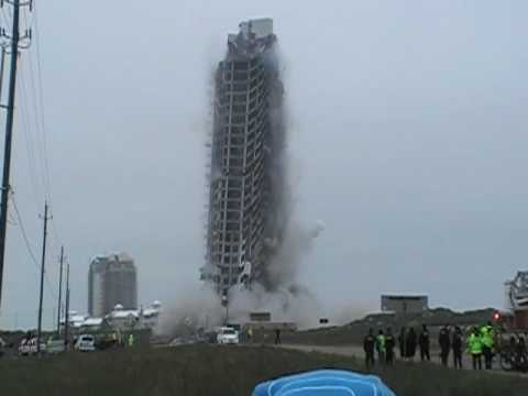 south padre island ocean tower demolished