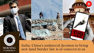 Indian Express Today Oct 28: China To Bring New Land Border Law, Pegasus Snooping Case, and more