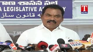 MLA Sunke Ravi Shankar Fires On Jeevanreddy   Hyderabad TNews Telugu
