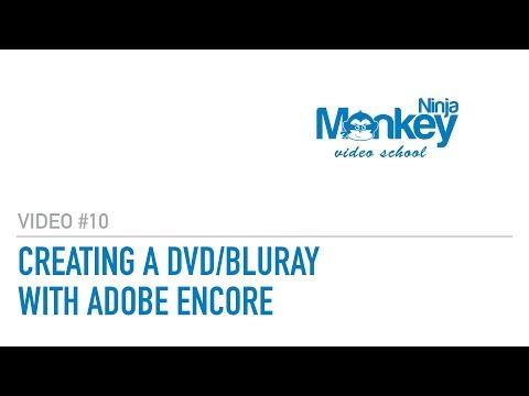 Creating a custom wedding DVD or blu-ray using adobe encore and photoshop - Ninja Video School #10