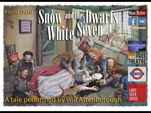 Snow White and the Seven Dwarfs // Bedtime story (Will Attenborough) (С РУССКИМИ СУБТИТРАМИ)