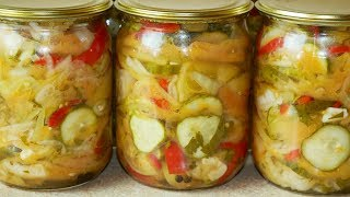 Наш ДОНСКОЙ САЛАТ по рецепту бабушки, цыганка готовит. Gipsy cuisine.