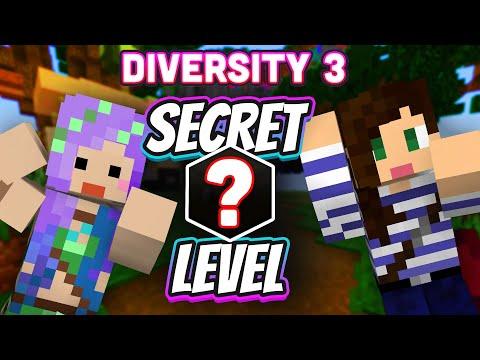 We Found A ✨SECRET LEVEL✨ in Diversity 3! Plus Merch Collab Announcement!
