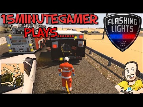 Flashing Lights Alpha - Police Fire EMS - EMS Gameplay |