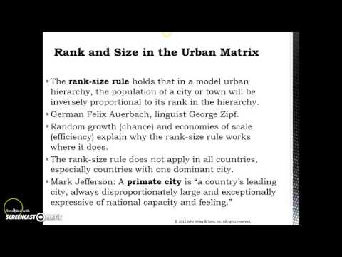 Where are cities located & why?