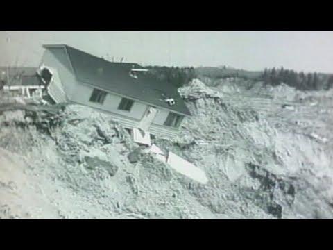 Glissement de terrain à Saint-Jean-Vianney