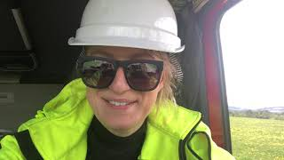 Ostatnia trasa projektu i awaria!/Last trip to WP&truck failure! Iwona Blecharczyk 2019/36