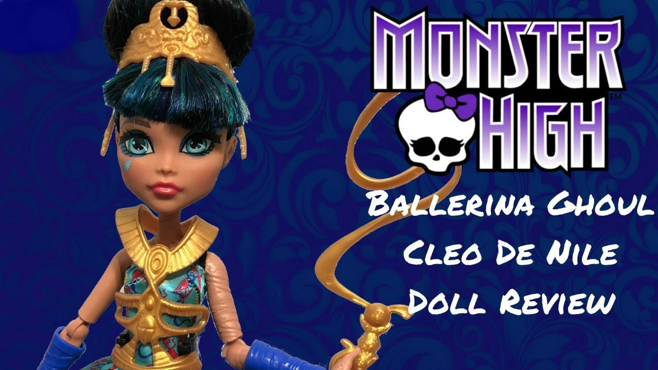 MONSTER HIGH FIRST DAY OF SCHOOL CLEO DE NILE DOLL …