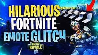 HILARIOUS NEW EMOTE GLITCH! (Fortnite Battle Royale)
