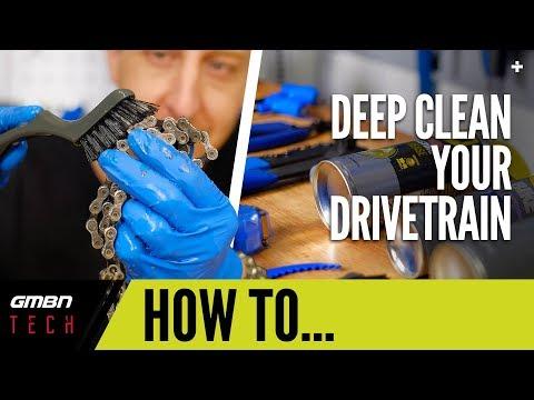 Deep Clean Your Mountain Bike Drive Train   GMBN Tech How To