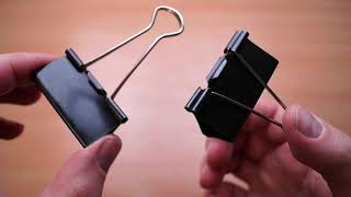 подставка для смартфона из зажима