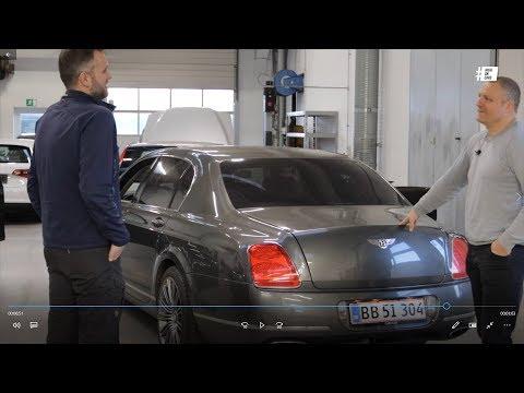 Vi kører Bentley Flying  Spur W12 og den vil i baren!