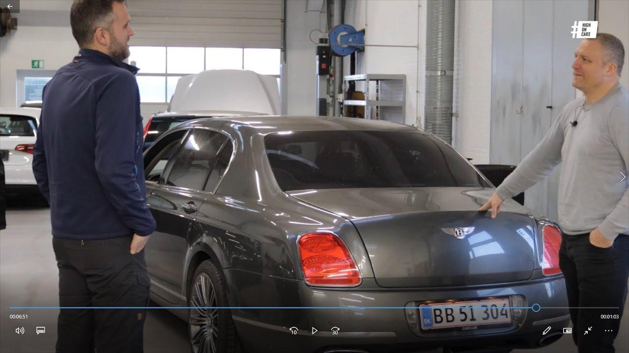 Hov! Der er en Bentley (Flying  Spur W12)