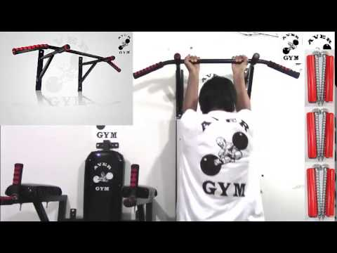 Barra para dominadas ejercicios para biceps triceps y dorsal lima peru youtube - Barras de ejercicio para casa ...