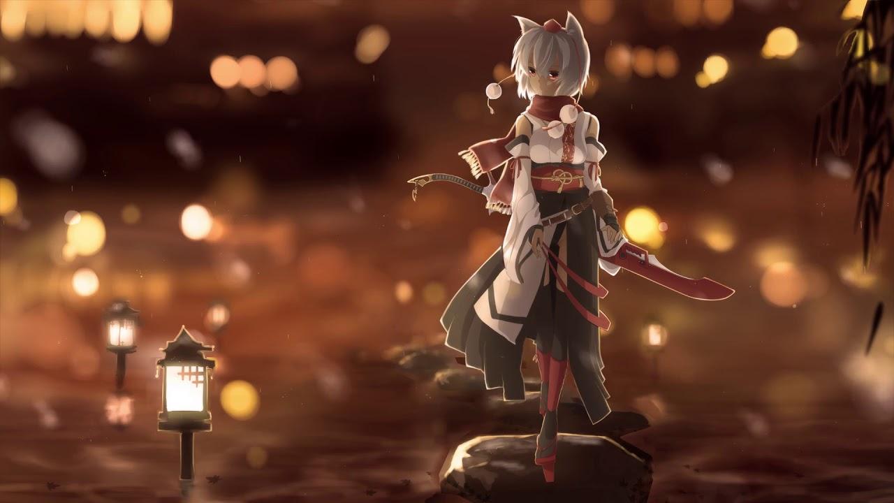 Touhou Fox Girl Anime Live Wallpaper Hd Youtube