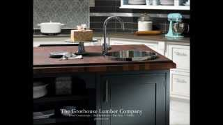 Interior Decorating With Wood Countertops ~ Wood Countertop Photos ~ Innovative Countertops