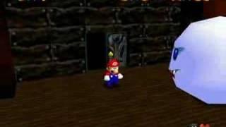 Super Mario 64: Walkthrough (Big Boo's Balcony)