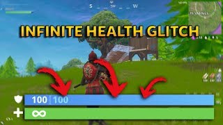 INFINITE HEALTH GLITCH!!! - Fortnite Highlights #1