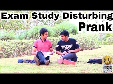 Exam Study Disturbing Prank | Gujarat | Funny Video | Hululu Prank | Prank In India | Prank 2018