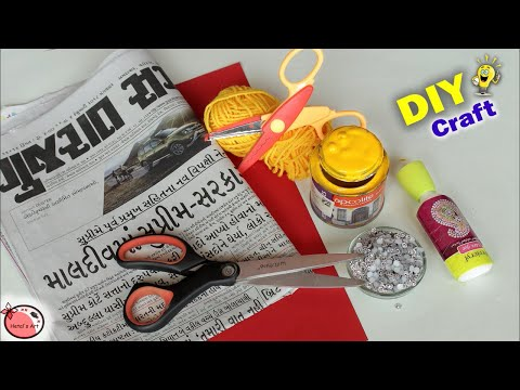 Genius Best out of Waste CRAFT IDEA || Wall Hanging Craft Making at Home || Waste mathi best