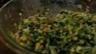 做韭菜合子